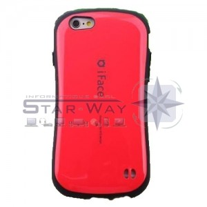 Coque TPU iFace  Galaxy S7 g930f rouge