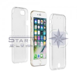 Coque 360° Ultra slim avant + arrière iPhone X/XS transparent