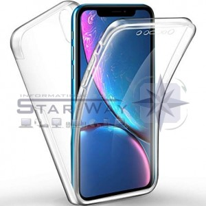 Coque 360° Ultra slim avant + arrière iPhone XR transparent