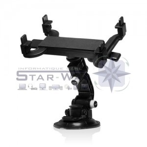 """Fly Multi-direction Stand - Support tablette tactile pour voiture 7""""-11"""""""