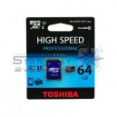 Micro SD Toshiba high speed 64GB