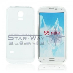 Coque Lux Galaxy S5 Mini G800F transparente